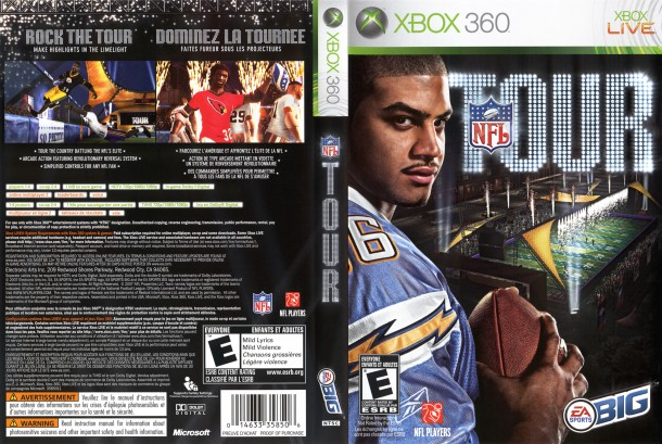 NFL Tour (Xbox 360) - Steelers vs. Browns (Gameplay & Commentary ...
