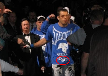 Dean Lister UFC 92